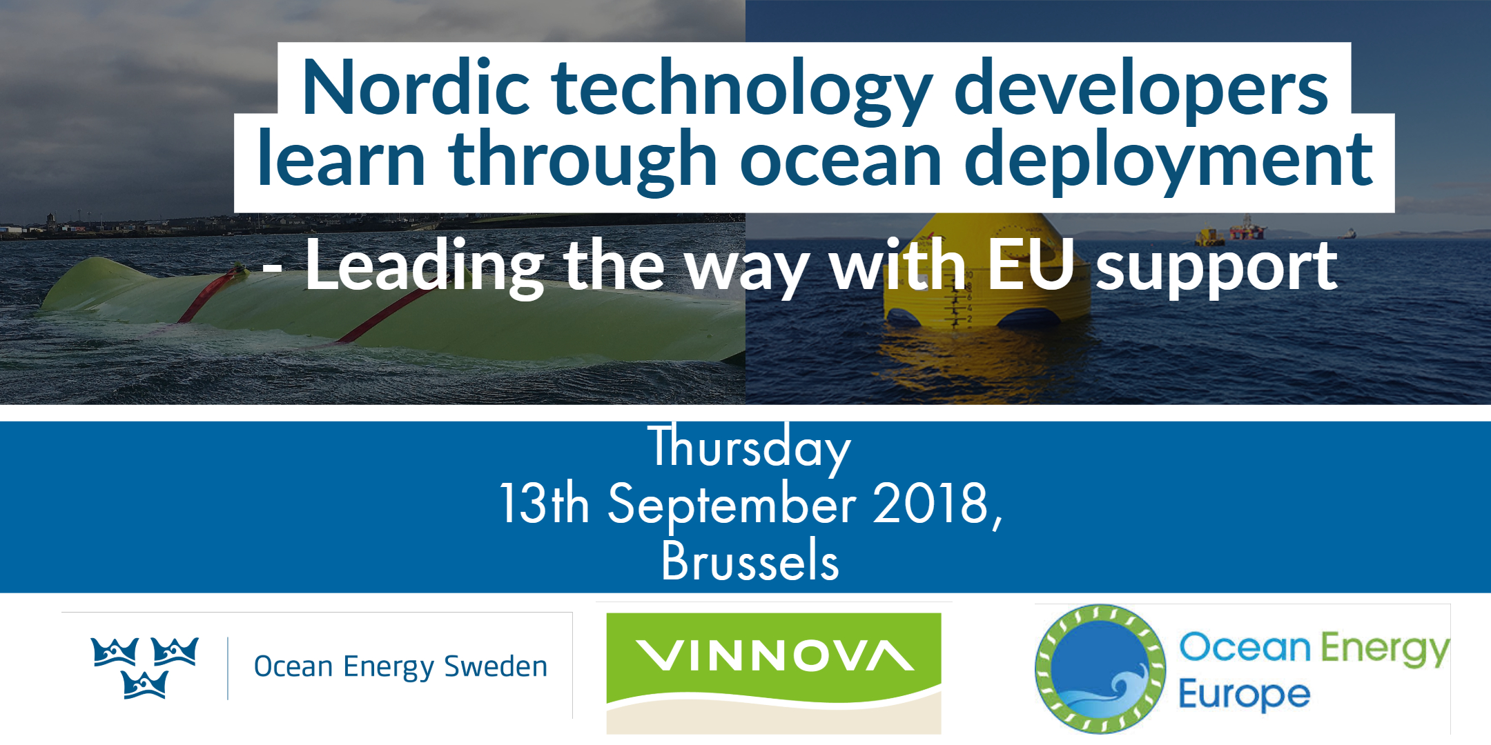 Ocean Energy Sweden is hosting an upcoming event in Brussels