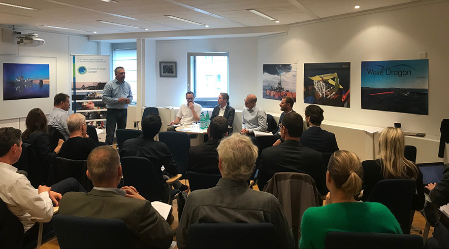 Ocean energy expertise gathered in Brussels